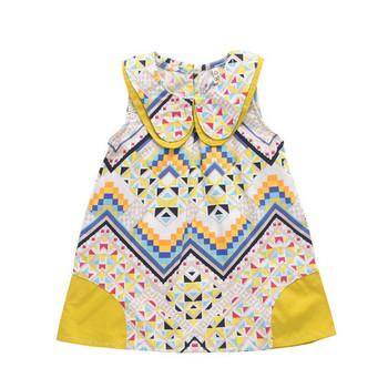 0f4c09b1575 Πολύχρωμο μοντέρνο παιδικό φόρεμα για κορίτσια - Badu.gr Ο κόσμος ...