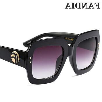 ΝΕΟ μοντέλο γυναικεία  κομψά γυαλιά ηλίου σε μαύρο χρώμα