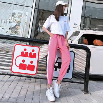 Ежедневен дамски комплект от панталон и блуза