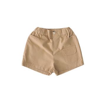 Детски модерни къси панталони в два цвята за момчета