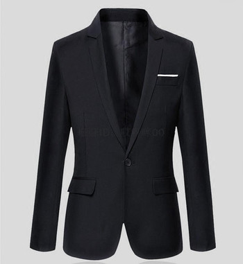 Официално мъжко сако в много цветове и големи размери