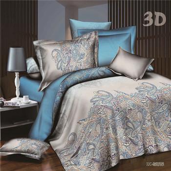 Много стилно спално бельо в различни цветове и шарки с 3D ефекти