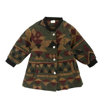Βρεφικό παλτό για αγόρια με επιγραφή - Badu.gr Ο κόσμος στα χέρια σου 7c894b43ba8