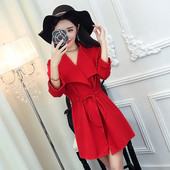 Сладка ежедневна рокля,леко разкроена с коланче в няколко цвята