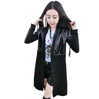 Αθλητικό-κομψό σακάκι για κυρίες σε μαύρο χρώμα