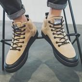 Стилни мъжки есенно-зимни обувки
