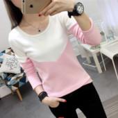 Семпла мека зимна блузка в няколко  цвята