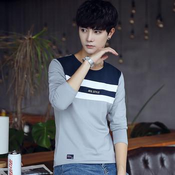 2316ba1b014b Το casual πουκάμισο των ανδρών του φθινοπώρου-χειμώνα με κολάρο σε σχήμα Τ  σε τρία