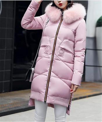 Χειμερινό σακάκι με μακριά μανίκια σε λεπτό μοντέλο