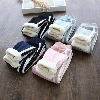 Ежедневен зимен детски панталон за момичета в различни цветове