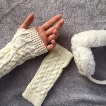 Нестандартни дамски вълнени ръкавици