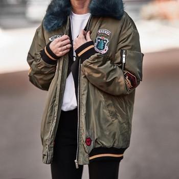 Χειμερινό σακάκι με κορδόνια και κολάρο για τσουλήθρα, 3 μοντέλα
