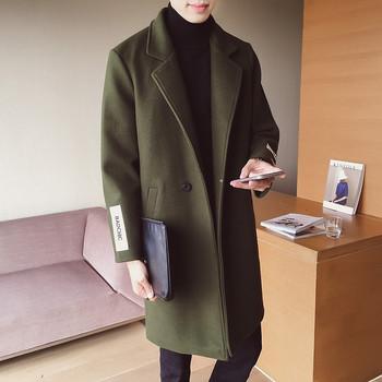 Χειμερινό παλτό σε στυλ επιχειρήσεων 1d455c00861