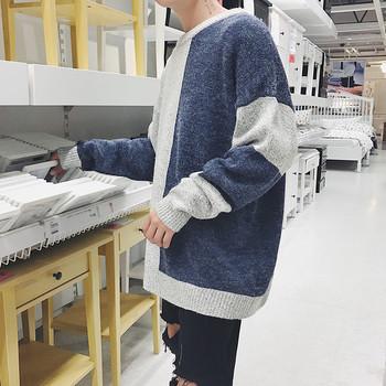 a46577149768 Πλούσιο πουλόβερ για άντρες με ολόσωμη γραμμή - Badu.gr Ο κόσμος στα ...