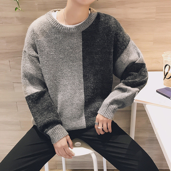 192f9439df11 Πλούσιο πουλόβερ για άντρες με ολόσωμη γραμμή - Badu.gr Ο κόσμος στα χέρια  σου
