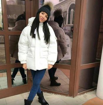 Ευρύ χειμερινό σακάκι με κουκούλα σε τέσσερα χρώματα