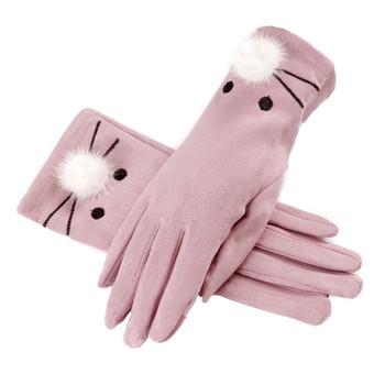 Дамски ръкавици в различни цветове и с декорация