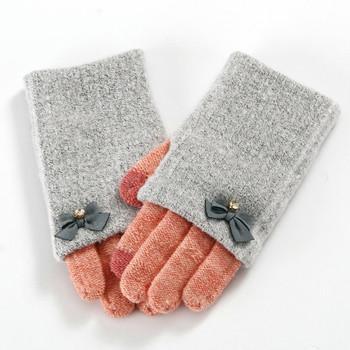 Дамски интересни ръкавици в шест цвят