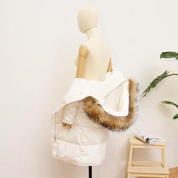 Γυναικείο μπουφάν με μακρύ μανίκι με απαλή κουκούλα και χλιαρό γέμισμα - 3 χρώματα