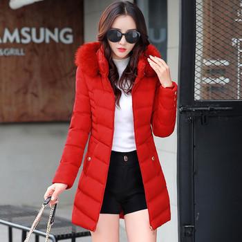 Γυναικείο μπουφάν με κουκούλα, 4 χρώματα