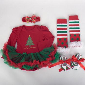 Детска коледна рокля за момичета в различни цветове и модели