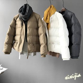 Ежедневно зимно дамско яке в изчистен модел, в три цвята