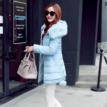 Γυναικεία μπουφάν  σε μπλε, ροζ, κόκκινο, μαύρο και γκρι  χρώμα