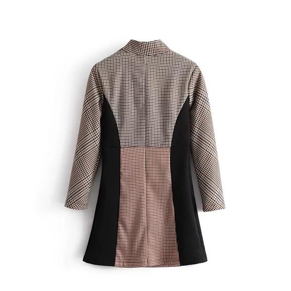 c178c881416 Γυναικεία φορέματα φθινοπωρινά-χειμωνιάτικα κομψά με κολάρο - Badu.gr Ο  κόσμος στα χέρια σου
