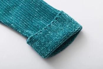 Топъл дамски пуловер с асиметрична дължина в два цвята