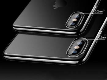 НОВО! Силиконов прозрачен кейс за iphone X