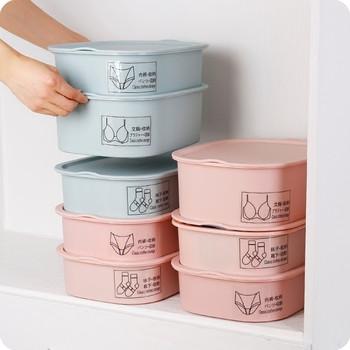 Практична домаксинска кутия за съхранение на бельо и чорапи - няколко модела