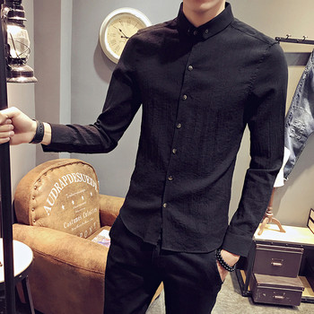 7e43809ff8d0 Κομψό ανδρικό πουκάμισο στενή γραμμή σε διάφορα χρώματα - Badu.gr Ο ...