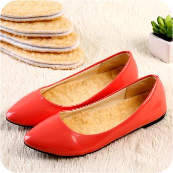 Зимни, топли и неизпотяеми се стелки за обувки