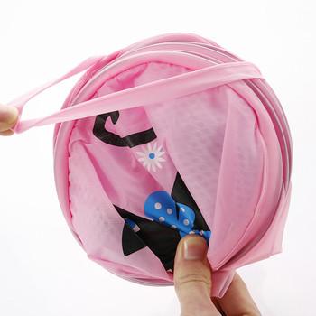 Сгъваема кошничка за мръсното бельо  - много модели и цветове