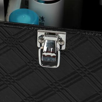 Страхотно дамско куфарче на 3 нива за съхранение на гримове и бижута