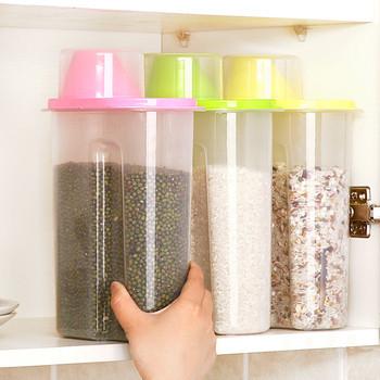 Удобни кутии за съхранение на зърнени храни и пасти