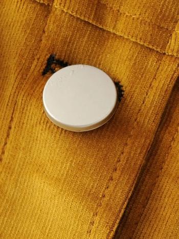 Ελαφρύ γυναικέιο μπουφάν για την  άνοιξη σε χρώμα μουστάρδας