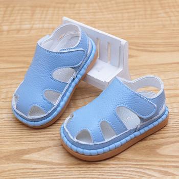Детски изчистени лятни сандали подходящи за момичета и момчета в няколко цвята