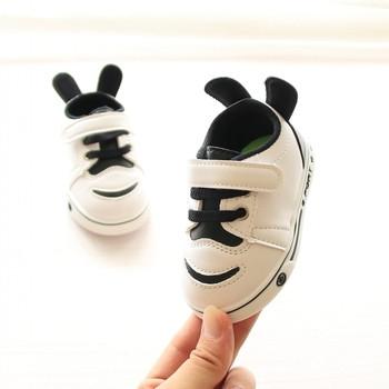 Ежедневни детски кецове за момчета и момичета с лепенки и връзки,със или без уши и в няколко цвята