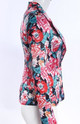 Γυναικείο καλοκαιρινό μπουφάν με floral μοτίβα