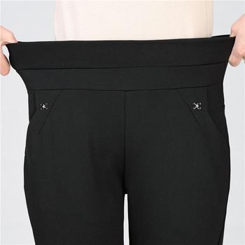 Елегантен дамски панталон  два модела в три цвята