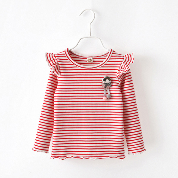 3a3840bed35d Παιδική μπλούζα για τα κορίτσια με λουλούδια μοτίβο ρίγες - δύο μοντέλα -  Badu.gr Ο κόσμος στα χέρια σου