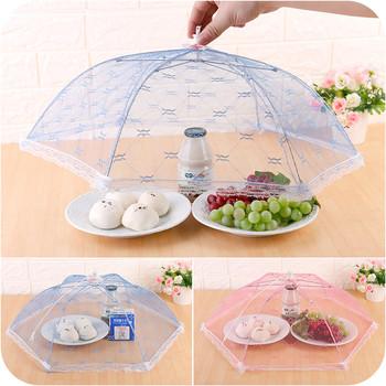 Хигиенен чадър за покриване на ястия , подходящ и за защита от домашни любимци
