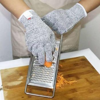 Противорежещи ръкавици , защитяващи пръстите от груби порязвания - подходящи както за работа така и за готвене