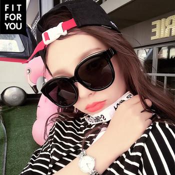 Κομψά γυναικεία γυαλιά ηλίου με μεγάλα ορθογώνια γυαλιά σε διάφορα χρώματα 71b6801e80c