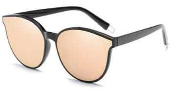 dac4ab94bb Κομψά γυναικεία γυαλιά ηλίου με αποτέλεσμα καθρέφτη σε διαφορετικά χρώματα