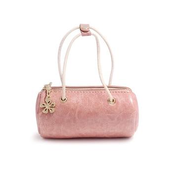 Γυναικείο μικρό πορτοφόλι τσάντας σε διάφορα χρώματα με ματ διακόσμηση