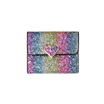 Γυναικείο μοντέρν πορτοφόλι σε ανοιχτά χρώματα