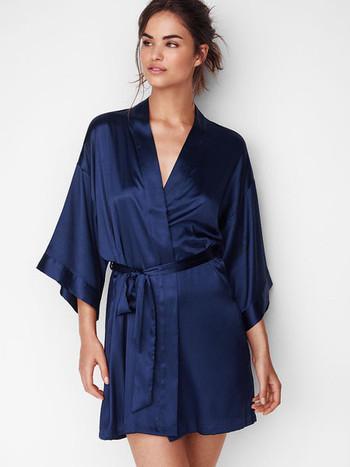 Копринен халат за дамите в няколко цвята