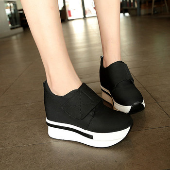 Γυναικεία αθλητικά παπούτσια σε πλατφόρμα με ταινία Velcro - Badu.gr ... 19e624c7daa